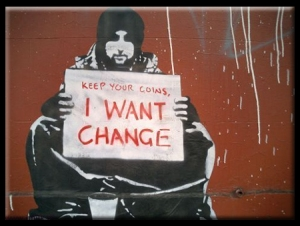 Keep your coins I want change!